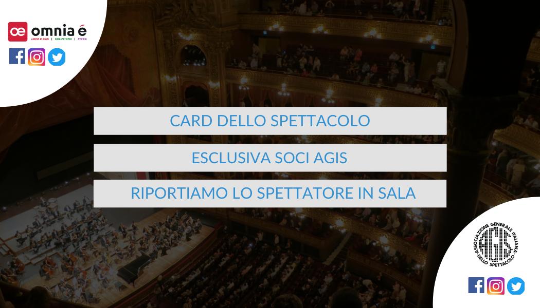 CARD DELLO SPETTACOLO